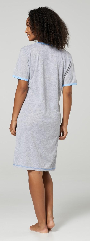 HAPPY MAMA Women/'s Maternity Hospital Gown Nightie Labour /& Birth 1200