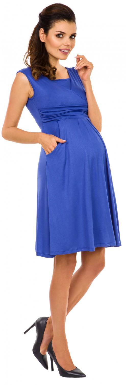 Zeta-Ville-Women-039-s-Maternity-Nursing-A-line-Dress-Pockets-Sleeveless-500c thumbnail 34