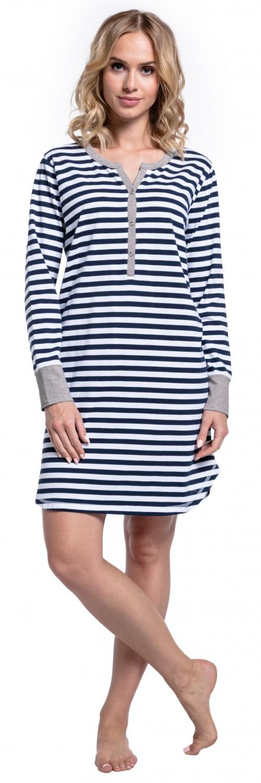 Happy-Mama-Women-039-s-Maternity-Hospital-Nightdress-Nursing-Nightie-Stripes-589p thumbnail 14
