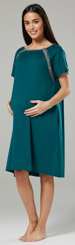 Zeta-Ville-Women-039-s-Maternity-Nursing-Delivery-Hospital-Gown-Nightshirt-536p thumbnail 22