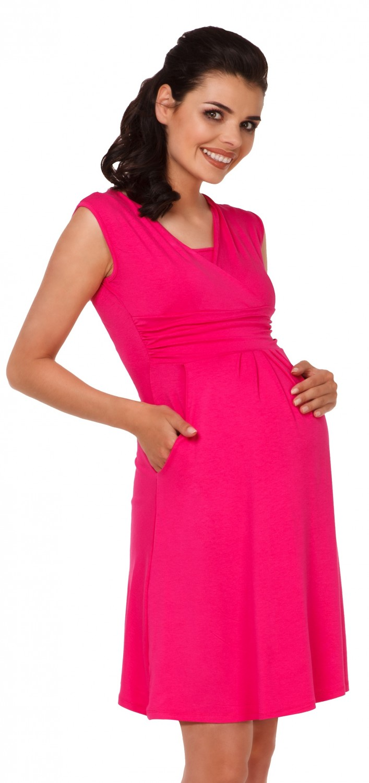 Zeta-Ville-Women-039-s-Maternity-Nursing-A-line-Dress-Pockets-Sleeveless-500c thumbnail 45