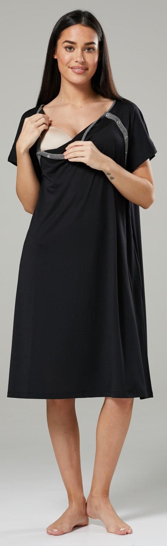Zeta-Ville-Women-039-s-Maternity-Nursing-Delivery-Hospital-Gown-Nightshirt-536p thumbnail 8