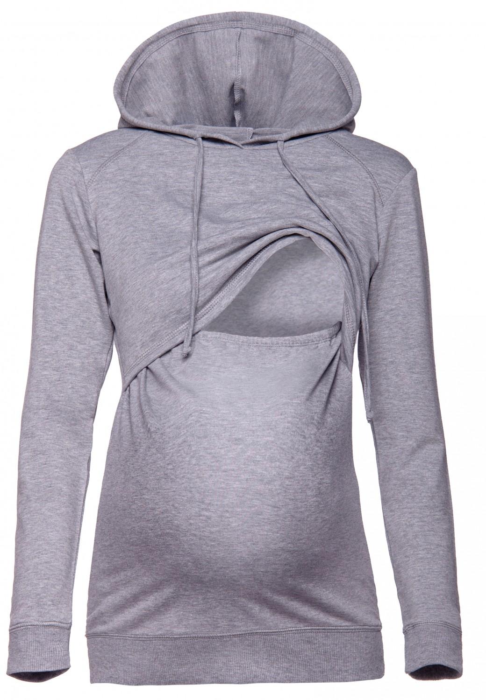 ab95e328d6faf Women's Nursing Hoodie Breastfeeding Sweatshirt Top Maternity. 272p | eBay
