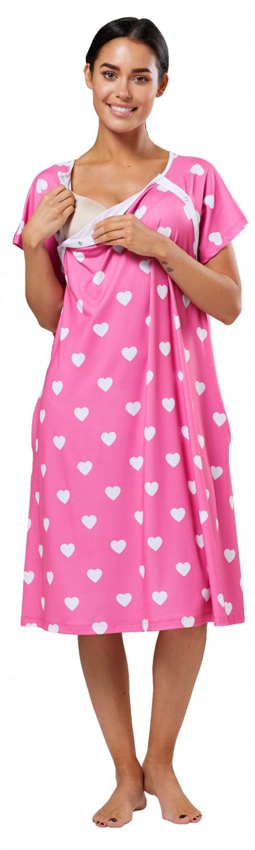 Zeta-Ville-Women-039-s-Maternity-Nursing-Delivery-Hospital-Gown-Nightshirt-536p thumbnail 68